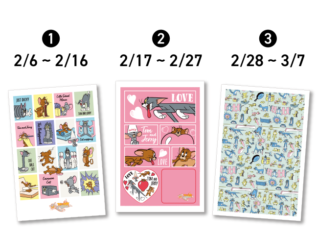 オリジナルポストカード(全3種)